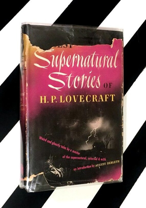 Best Supernatural Stories of H. P. Lovecraft edited by August Derleth (1945) hardcover book