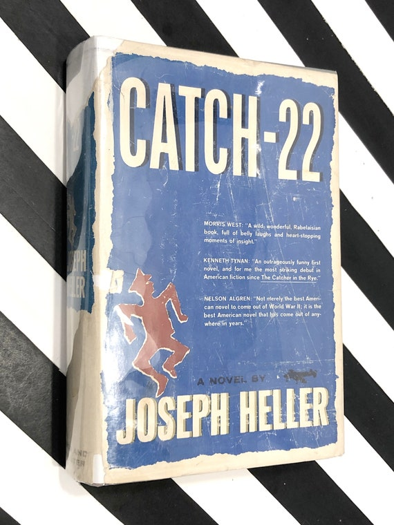 Catch-22 by Joseph Heller (1961) hardcover book