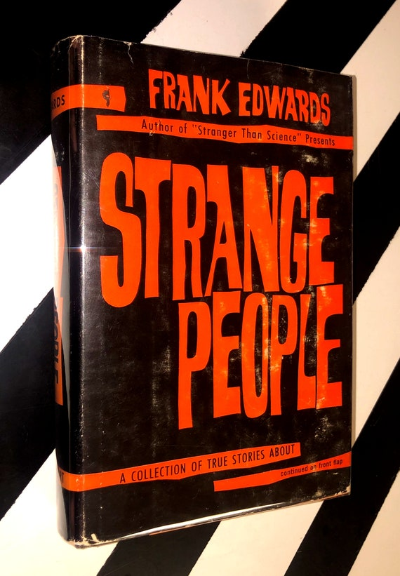 Strange People by Frank Edwards (1961) hardcover first edition book