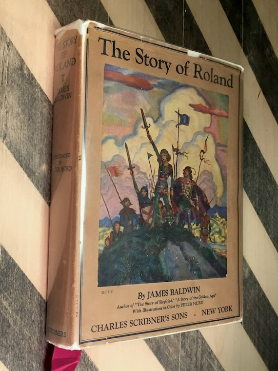 The Story of Roland by James Baldwin (1930) hardcover book