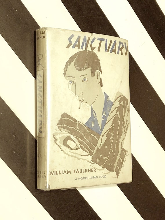 Sanctuary by William Faulker (1932) Modern Library hardcover book