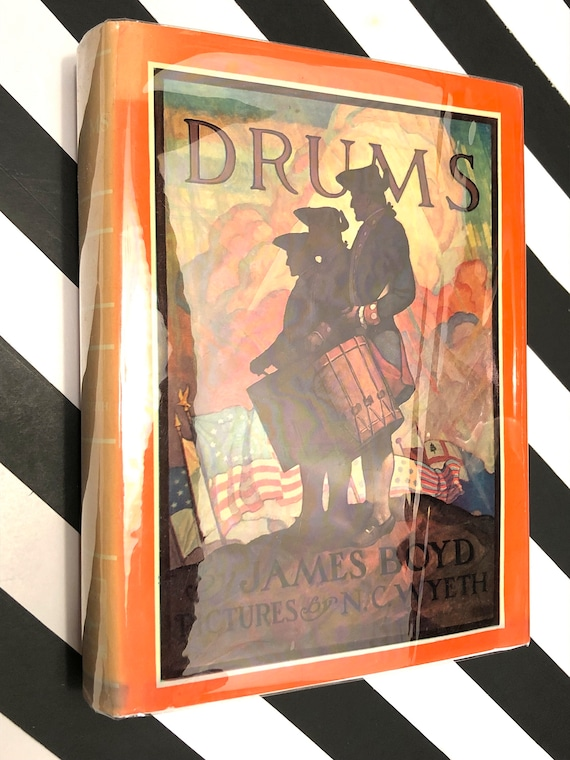 Drums by James Boyd (1956) hardcover book
