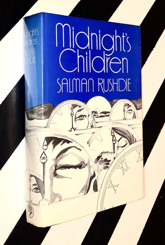 Midnight's Children by Salman Rushdie (1982) hardcover signed book
