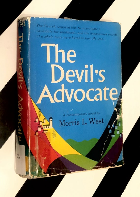 The Devil's Advocate by Morris L. West (1959) hardcover book
