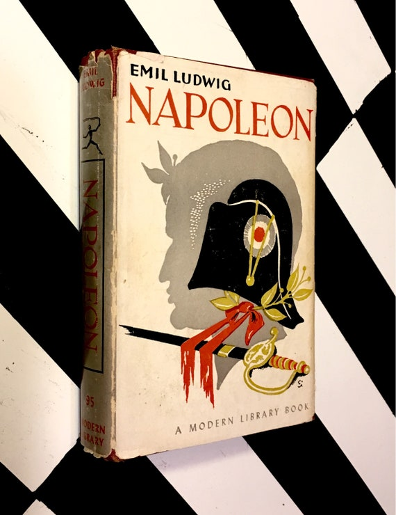Napoleon by Emil Ludwig (1953) Modern Library hardcover book