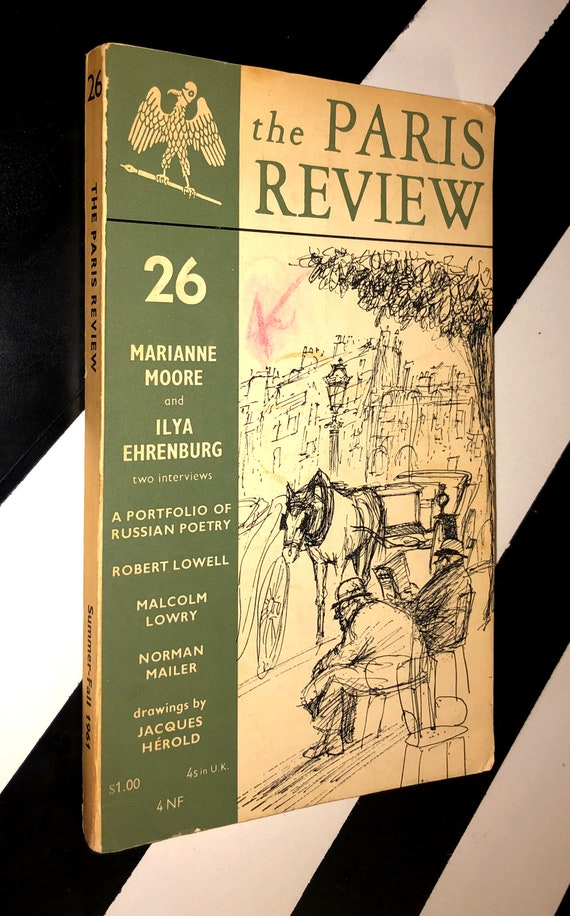 The Paris Review 26 Summer-Fall (1961) softcover book