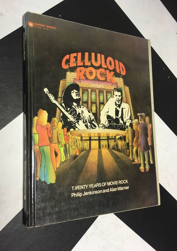 Celluloid Rock: Twenty Years of Movie Rock by Philip Jackson vintage music biography book (Hardcover, 1976)