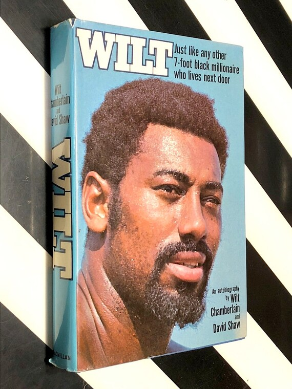 Wilt, an Autobiogrphy by Wilt Chamberlain (1973) first edition book