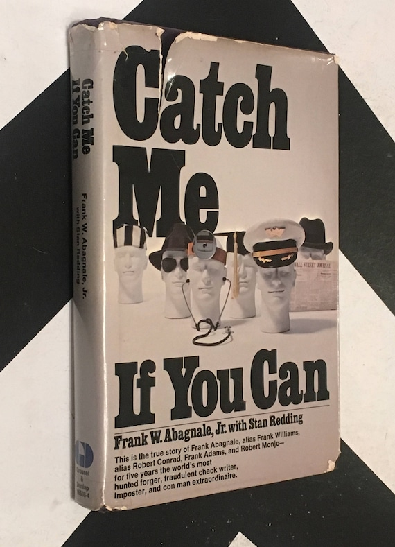 Catch Me if You Can by Frank Abagnale, Jr. with Stan Redding (Hardcover, 1980) vintage rare book