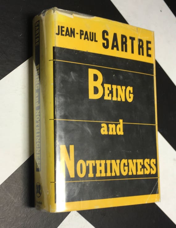 Being and Nothingness by by Jean-Paul Sartre (1956) hardcover book