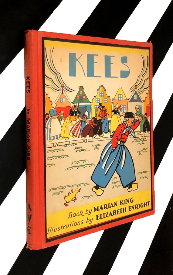Kees book by Marian King illustrations by Elizabeth Enright (1937) hardcover book
