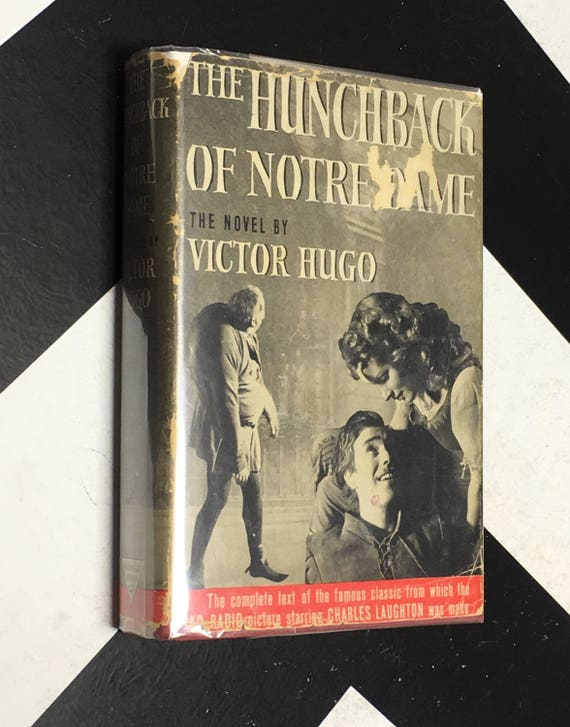 The Hunchback of Notre Dame by Victor Hugo vintage classic triangle books edition (Hardcover, 1940)