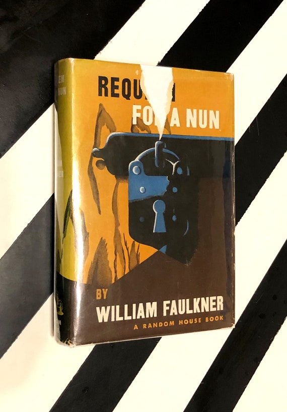 Requiem for a Nun by William Faulkner (1951) hardcover first edition book