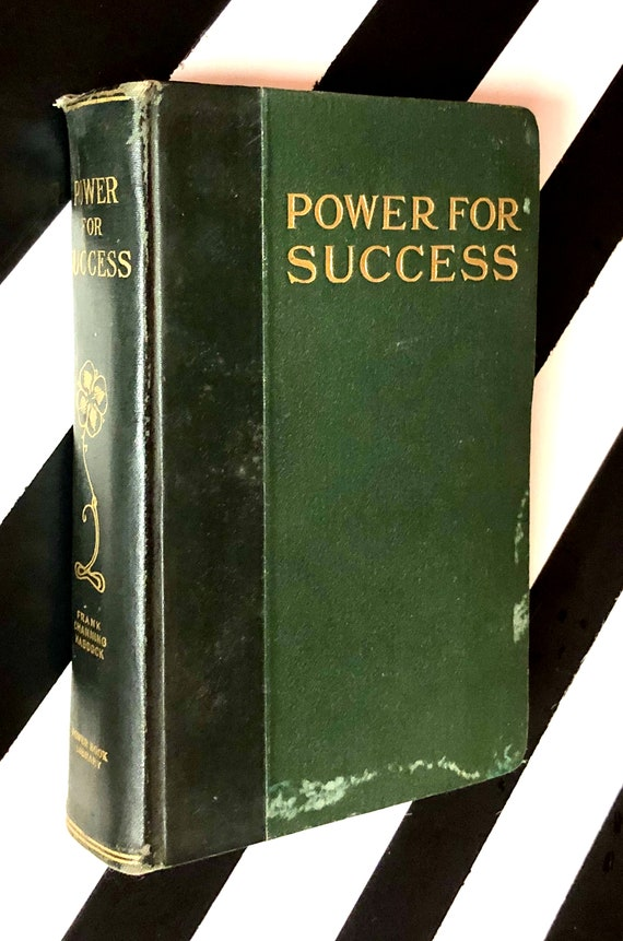 Power for Success by Frank Channing Haddock (1920) hardcover book