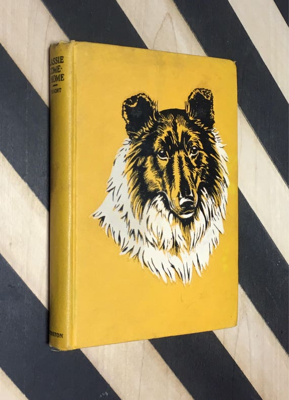 Lassie Come-Home by Eric Knight; Illustrated by Marguerite Kirmse (1944) hardcover book