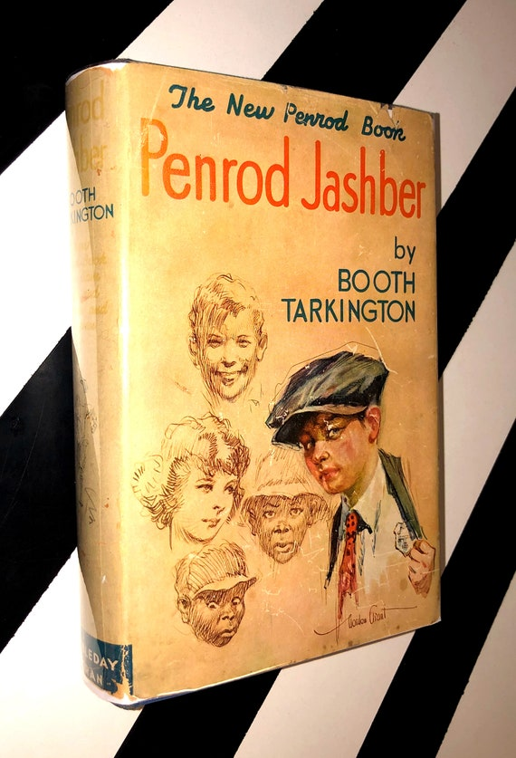 Penrod Jashber by Booth Tarkington (1929) hardcover book