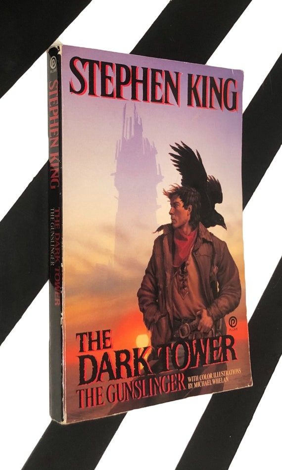 The Gunslinger by Stephen King (1988) softcover book