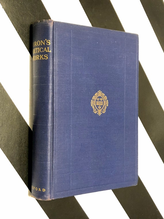 The Poetical Works of Lord Byron (1945) hardcover book