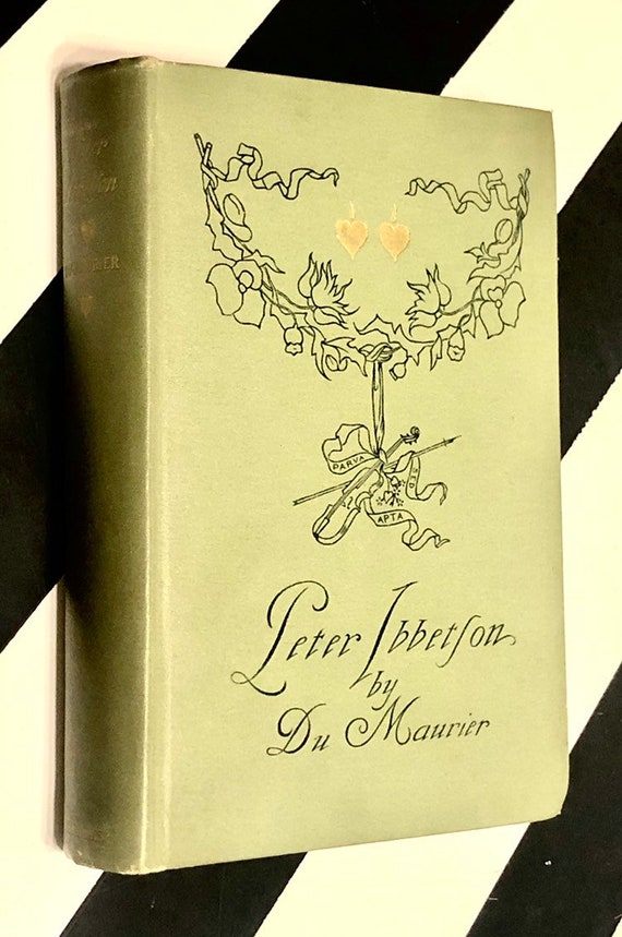 Peter Ibbetson edited and illustrated by George du Maurier (1891) hardcover book
