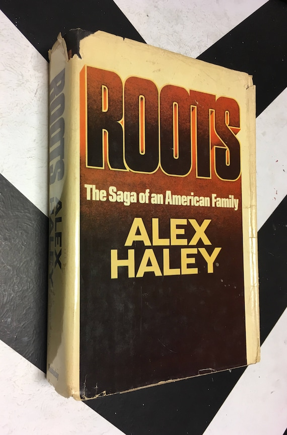 Roots by Alex Haley vintage classic rare book (Hardcover, 1976)