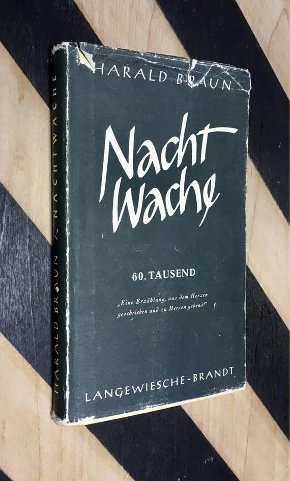 Nachtwache by Harald Braun (1952) hardcover book