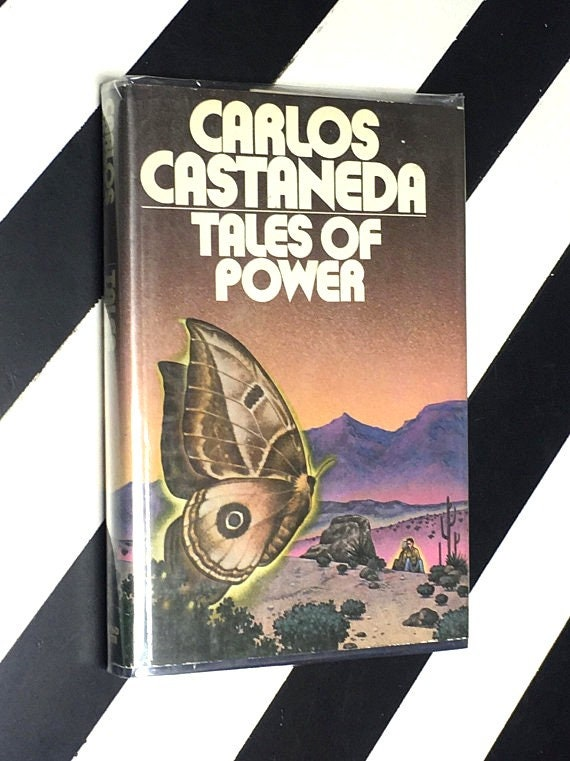 Tales of Power by Carlos Castaneda (1974) hardcover book