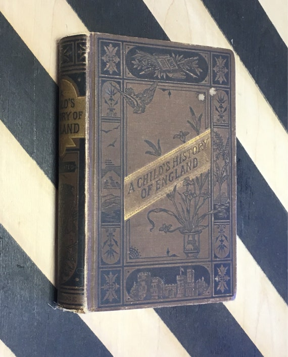 A Child's History of England by Charles Dickens with Illustrations by Marcus Stone (1880's era) hardcover book
