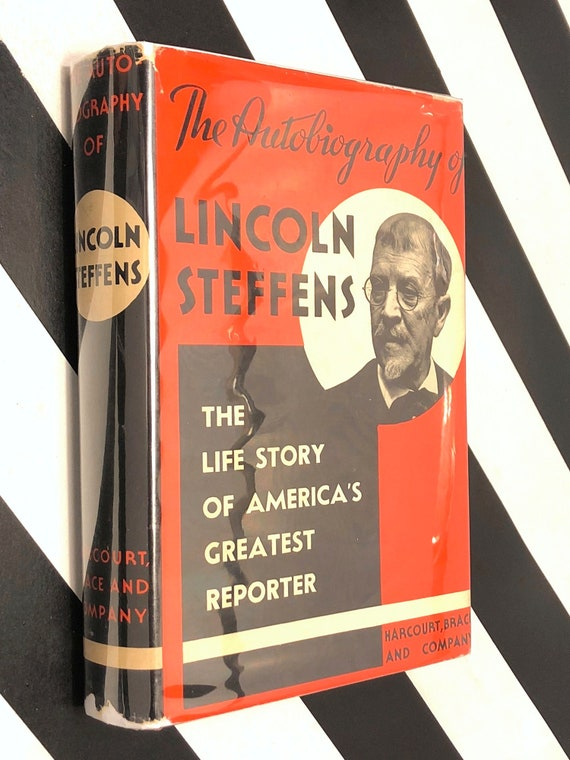 The Autobiography of Lincoln Steffens (1931) hardcover book