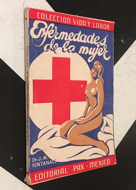 Enfermedades de la mujer - Higiene del Embarazo y del Parto by Dr. J. M. Fontanals vintage spanish language health book (Softcover, 1948)