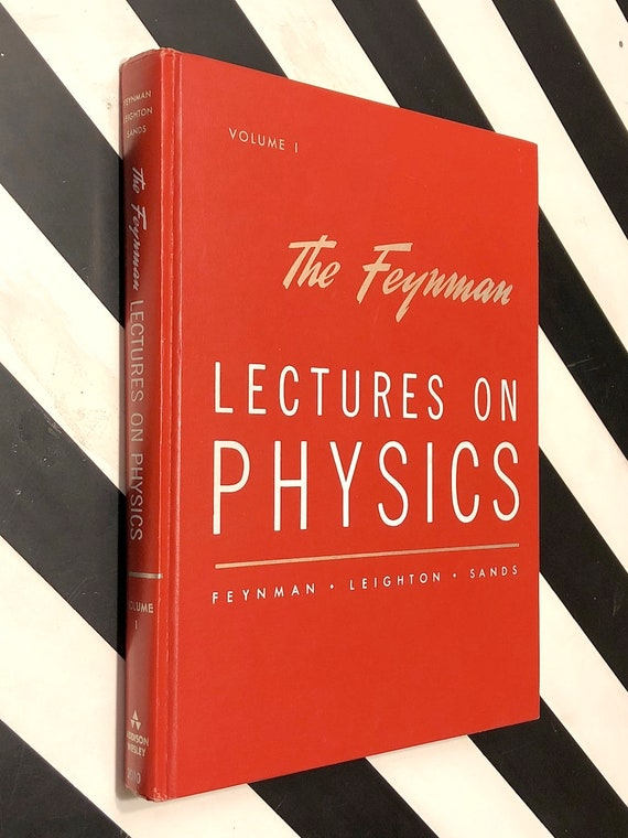 The Feynman Lectures on Physics, Volume 1 (1963) hardcover book