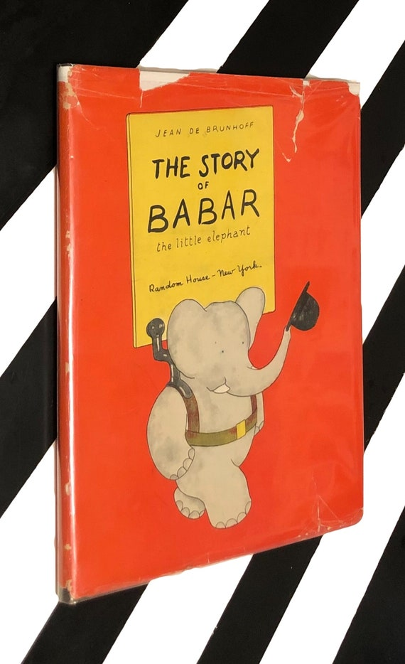 The Story of Babar the Little Elephant by Jean de Brunhoff (1933) hardcover book