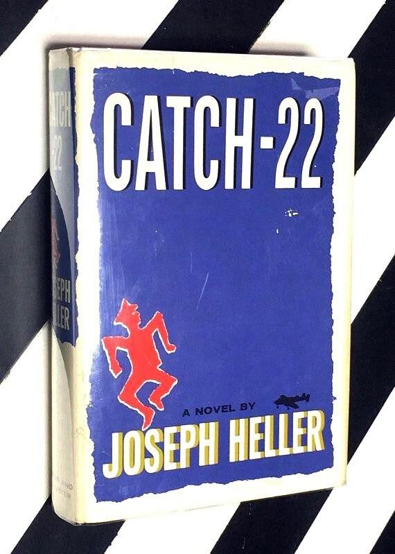 Catch-22: A Novel by Joseph Heller (1961) hardcover book