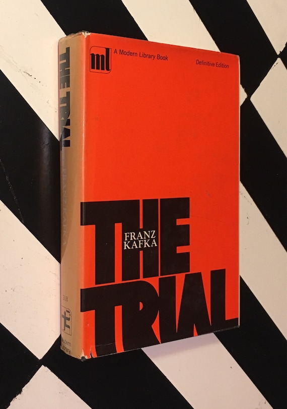 The Trial by Franz Kafka - Definitive Edition (1964) Modern Library hardcover book