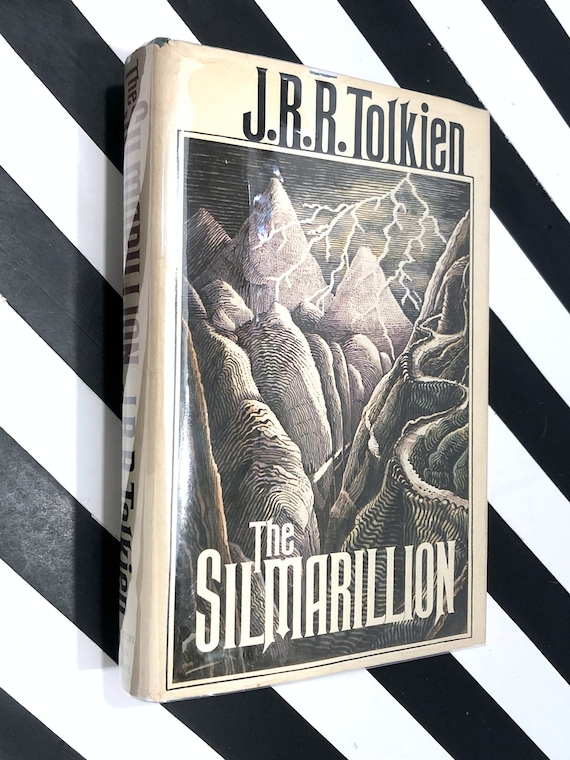 The Silmarillion by J. R. R. Tolkien (1977) hardcover book