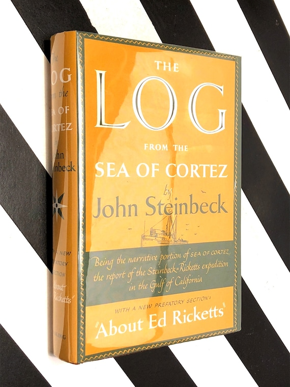The Log from the Sea of Cortez by John Steinbeck (1951) first edition book