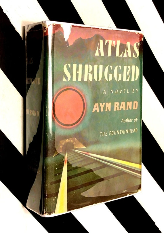 Atlas Shrugged A Novel By Ayn Rand 1957 Hardcover Book