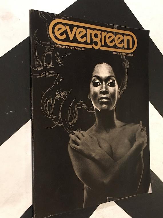 Evergreen Review/ Volume 14/ No. 78 vintage rare classic counterculture grove press (Softcover Magazine: May, 1970)