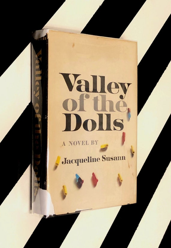 Valley of the Dolls: A Novel by Jacqueline Susann (1966) hardcover book
