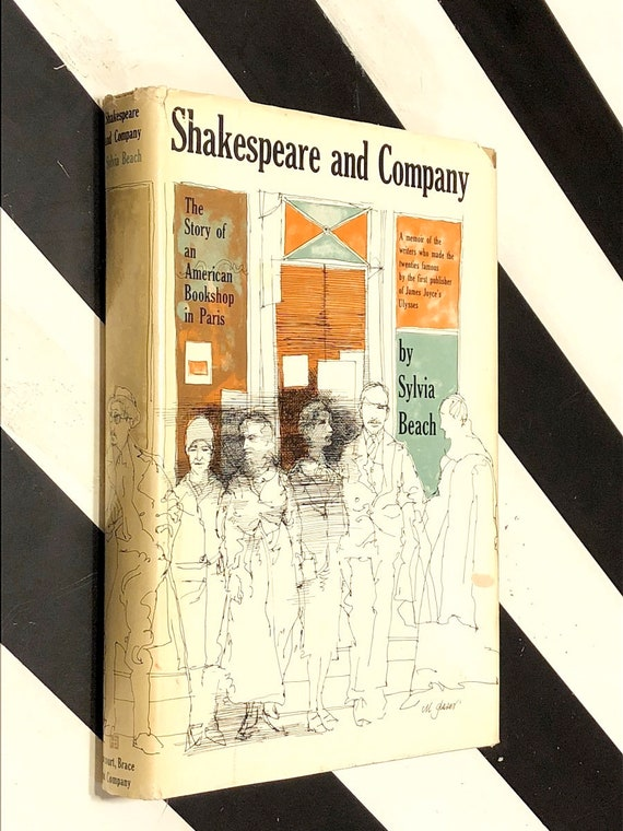 Shakespeare and Company by Sylvia Beach (1959) first edition book