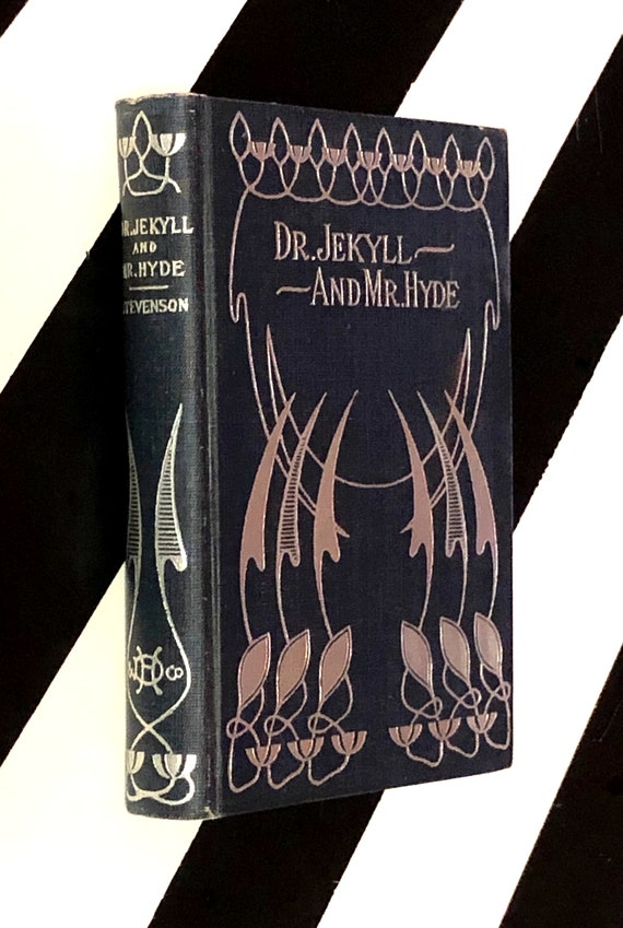 The Strange Case of Dr. Jekyll and Mr. Hyde by Robert Louis Stevenson (no date) hardcover book