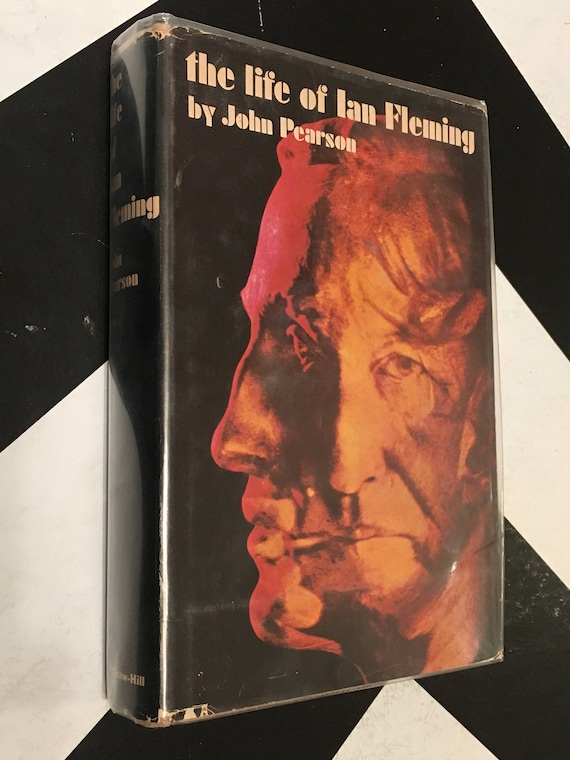 The Life of Ian Fleming by John Pearson (Hardcover, 1966) vintage book