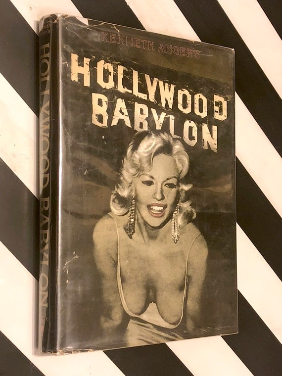 Hollywood Babylon by Kenneth Anger (1975) hardcover book