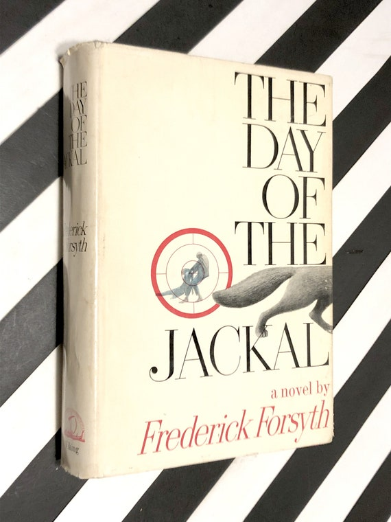 The Day of the Jackal by Frederick Forsyth (1971) hardcover book