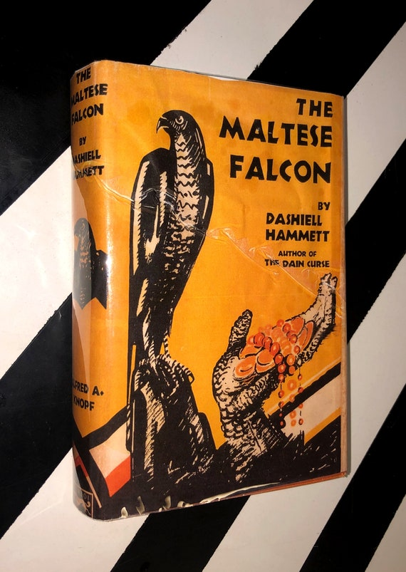 The Maltese Falcon by Dashiell Hammett (1930) hardcover book