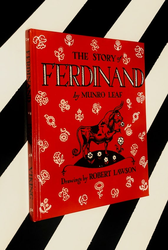 The Story of Ferdinand by Munro Leaf (1988) hardcover book