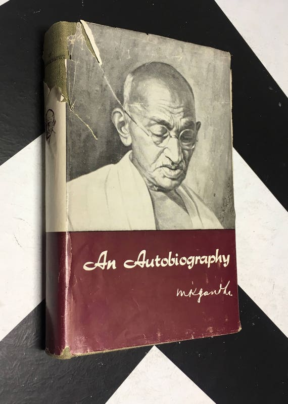 An Autobiography or The Story of My Experiments with Truth by M. K. Gandhi scarce classic (Hardcover, 1976)