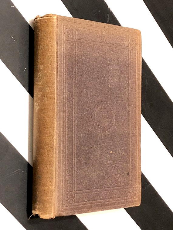 Walden by Henry David Thoreau (1864) hardcover book