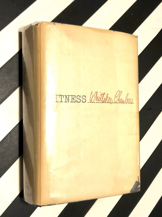 Witness by Whittaker Chambers (1952) hardcover book