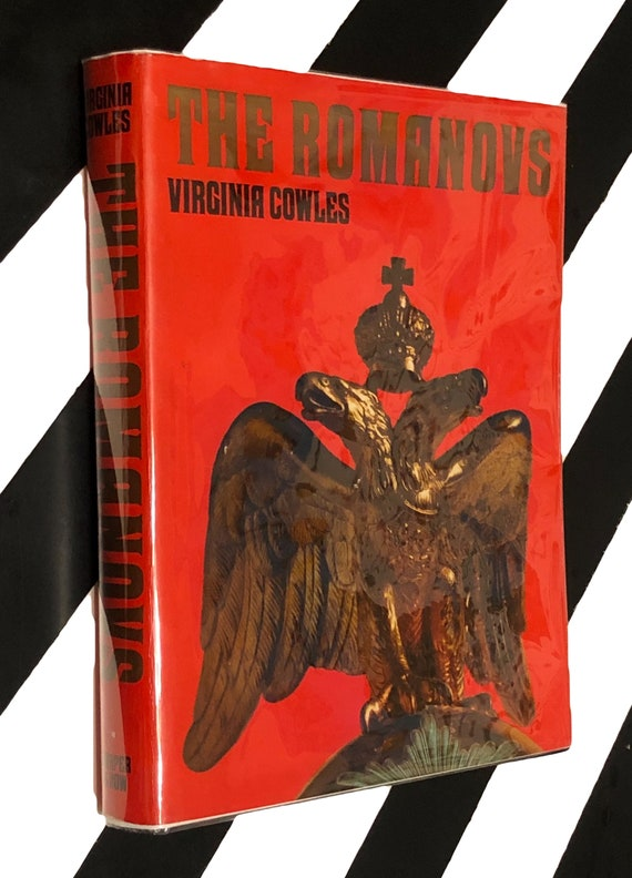 The Romanovs by Virginia Cowles (1971) hardcover first edition book