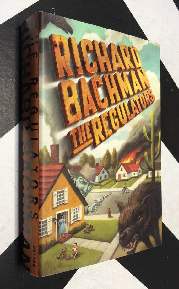 The Regulators by Richard Bachman (Hardcover, 1996) vintage book